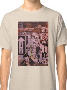 wall graffiti Classic T-Shirt