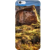 Monolith on the Trail at Sears-Kay Ruins iPhone Case/Skin