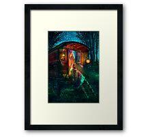 Gypsy Firefly Framed Print