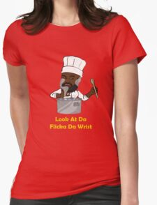 Flicka Da Wrist Womens Fitted T-Shirt