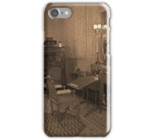 the vintage living room iPhone Case/Skin