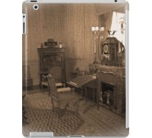 the vintage living room iPad Case/Skin