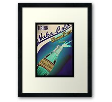 Fallout - Drink Nuka Cola Quantum Framed Print