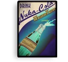 Fallout - Drink Nuka Cola Quantum Canvas Print