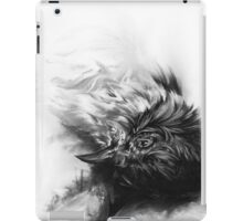 Senescent 4 - charcoal drawing iPad Case/Skin