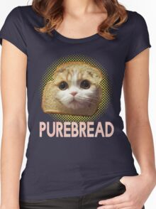 Purebread Women's Fitted Scoop T-Shirt