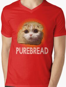 Purebread Mens V-Neck T-Shirt