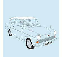Weasley's Flying Ford Anglia Photographic Print