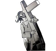 Carry your Cross Photographic Print