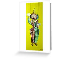 SM Clown Greeting Card