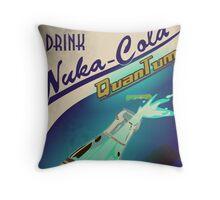 Fallout - Drink Nuka Cola Quantum Throw Pillow