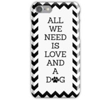 Love and a Dog iPhone Case/Skin