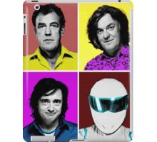 Top Gear Inspired Pop Art, All Personalities in One iPad Case/Skin