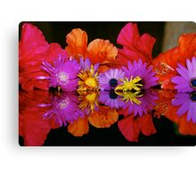 AS ABOVE SO BELOW - FLOWERS Canvas Print