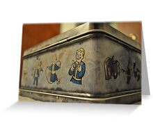 Fallout - Lunchbox Greeting Card