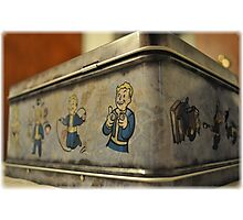Fallout - Lunchbox Photographic Print