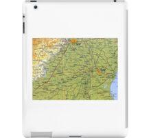 map iPad Case/Skin