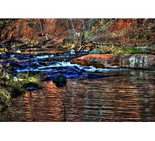 Small Cascade on Oak Creek North of Sedona Photographic Print