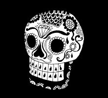 Urban Phenom™ Day of the Dead Skull by Mike Rocha