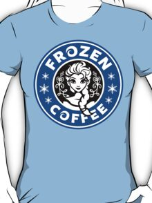 Frozen Coffee - Blue version T-Shirt
