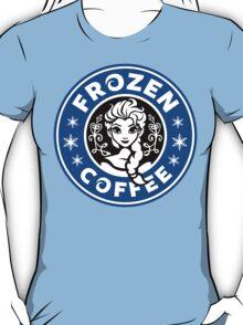 Frozen Coffee - Blue version T-Shirt