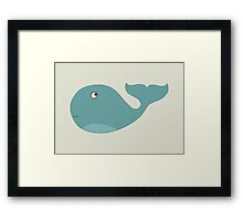 We are Whales - Whale Framed Print