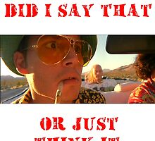 Fear and Loathing - a ride in bat country by JSThompson