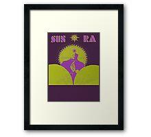 Sun Ra T-Shirt Framed Print