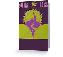 Sun Ra T-Shirt Greeting Card
