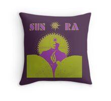 Sun Ra T-Shirt Throw Pillow