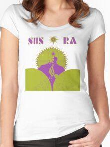 Sun Ra T-Shirt Women's Fitted Scoop T-Shirt
