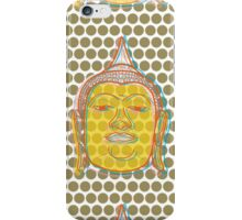 Buddha's Smile Oriental Zen Pop Art iPhone Case/Skin