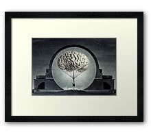 light headed Framed Print