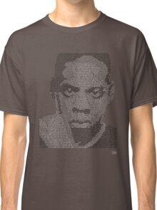 Jay-Z Lyric Portrait Classic T-Shirt