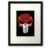 Flash Punisher Framed Print