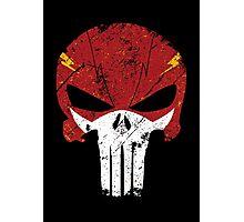 Flash Punisher Photographic Print