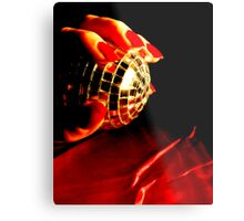 caught.. Metal Print