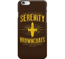 Serenity Browncoats iPhone Case/Skin