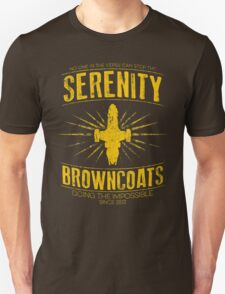 Serenity Browncoats T-Shirt
