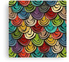 scallop scales Canvas Print