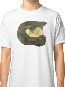Low Poly - Master Chief Classic T-Shirt