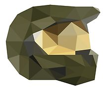 Low Poly - Master Chief by jonathanpum