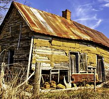 Dilapidated Country House by georgiaart1974