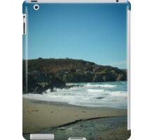 Blue Hills Valley - Crashing Waves - Cornwall iPad Case/Skin
