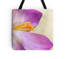 Crocus Crop Tote Bag