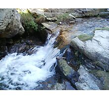 Blue Hills Valley - Running River - Cornwall Photographic Print