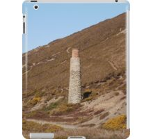 Blue Hills Valley - Lonley Chimney - Cornwall iPad Case/Skin