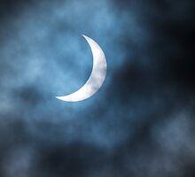 Solar Eclipse Over Newcastle by NeilWiddowson