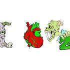 I Heart Zombies by Skree