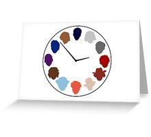 Doc Clock Greeting Card